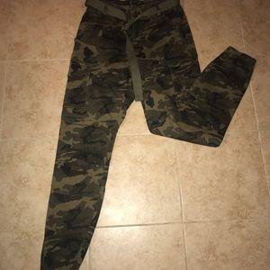 American Bazi Cargo Camo Jeans